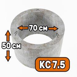 Горловина колодца КС 7-5 - фото